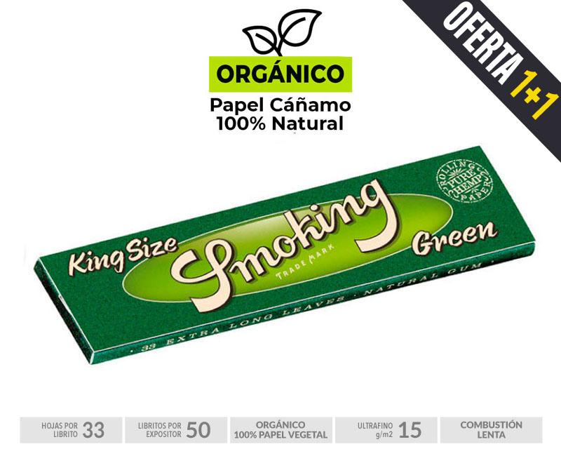 EXP 50 SMOKING KING SIZE GREEN