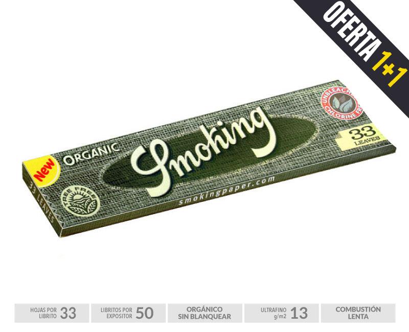 SMOKING EXP 50  ORGANICO KING SIZE