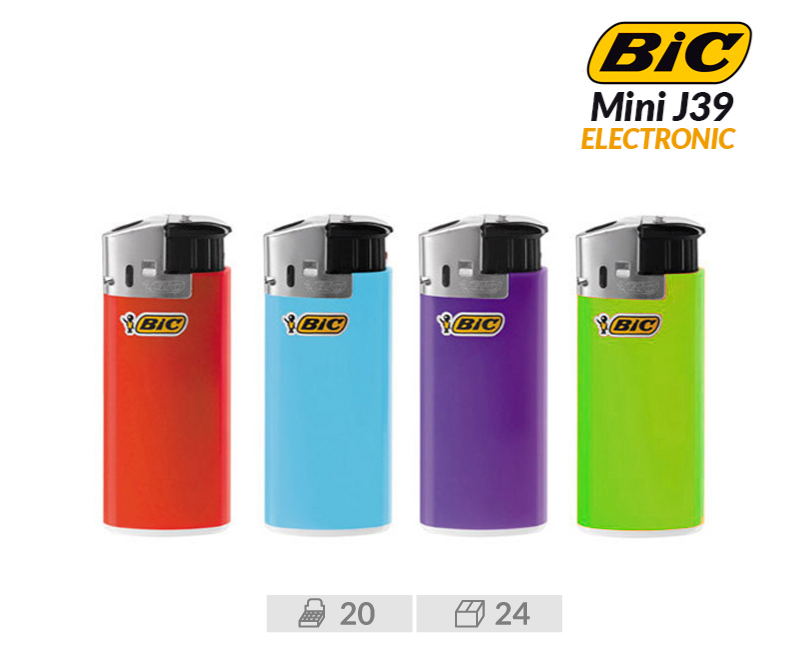 EXP 20 BIC J39 MECHERO  ELECTRONICO