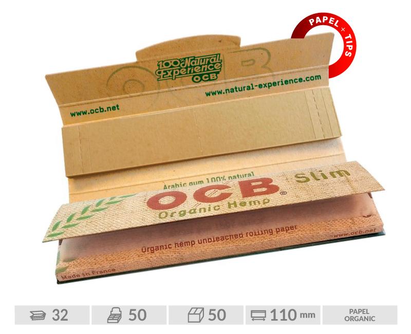 EXP 32 OCB ORGANIC SLIM + TIPS