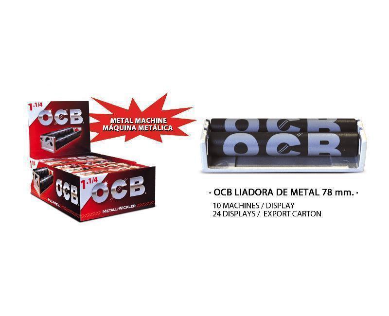 EXP 10 OCB LIADORA METAL 78mm