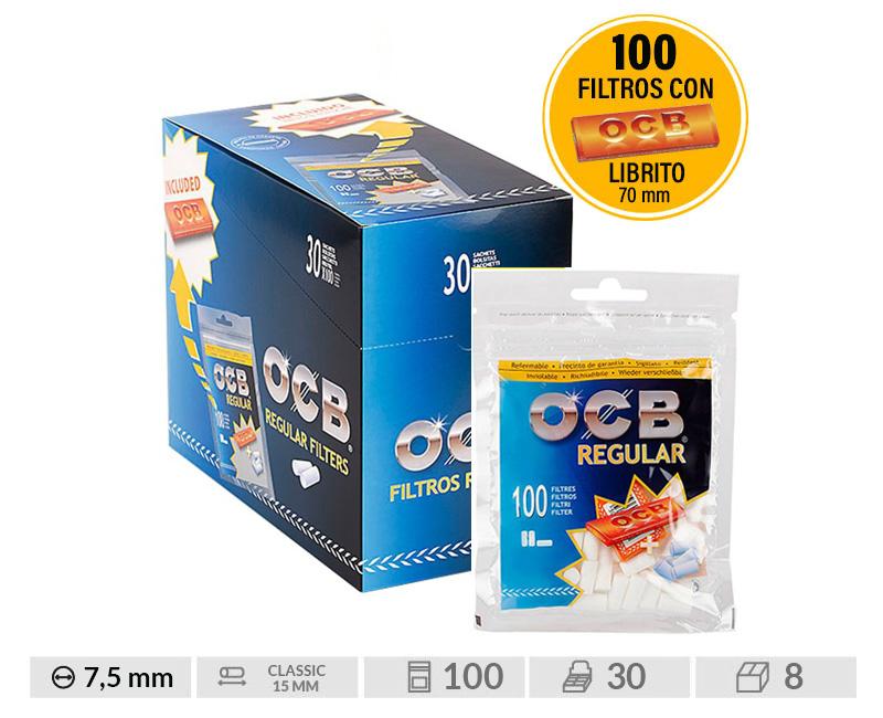 EXP 30 OCB FILTER 8mm + LIBRITO ORANGE