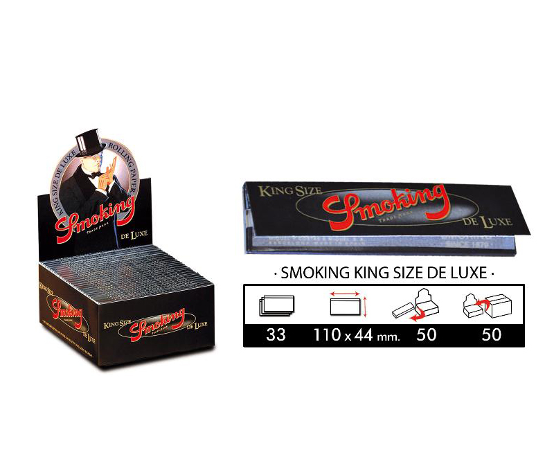 EXP 50 SMOKING KING SIZE DELUXE
