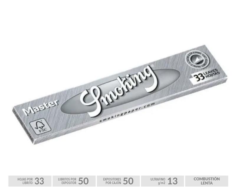 EXP 50 SMOKING MASTER SILVER KING SIZE