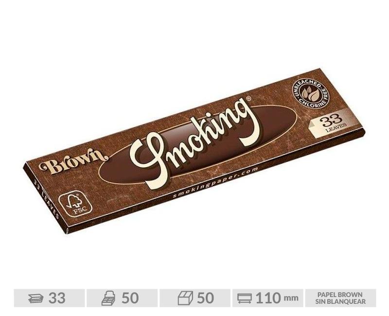 SMOKING EXP 50  KING SIZE BROWN