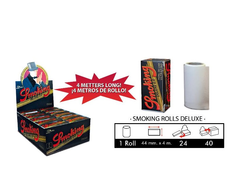 EXP 24 SMOKING DELUXE ROLLS