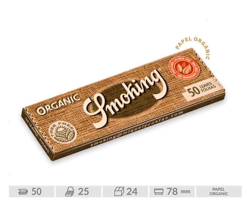 EXP 25 SMOKING ORGANICO 1 1/4