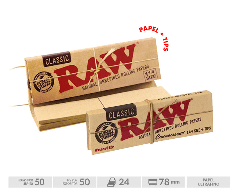 EXP 24 RAW 1 1/4 + TIPS