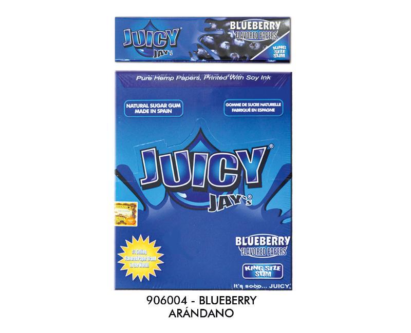 EXP 24 JUICY JAY'S KS SLIM BLUEBERRY