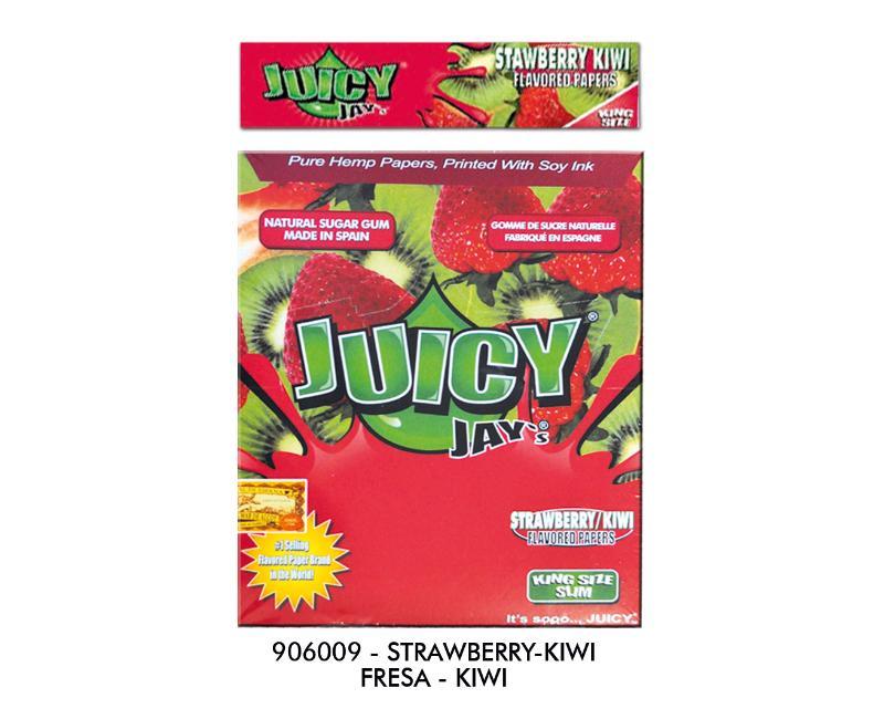 EXP 24 JUICY JAY'S KS SLIM STRAWBERRY-KIWI