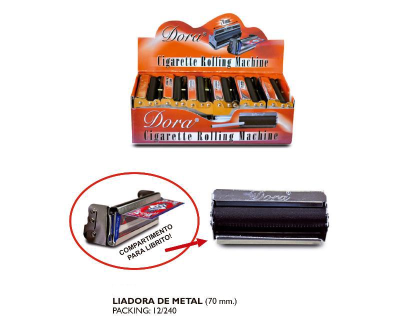 DORA EXP 12 MAQUINA LIAR 70mm METAL/PORTALIBRITOS