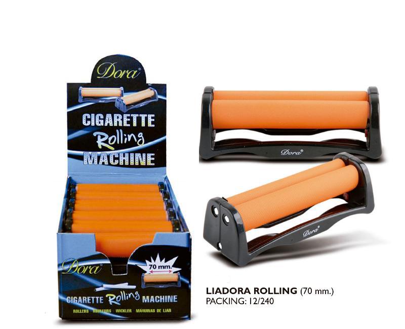 DORA EXP 12 MAQUINA LIAR 70mm (LIADORA ROLLING)