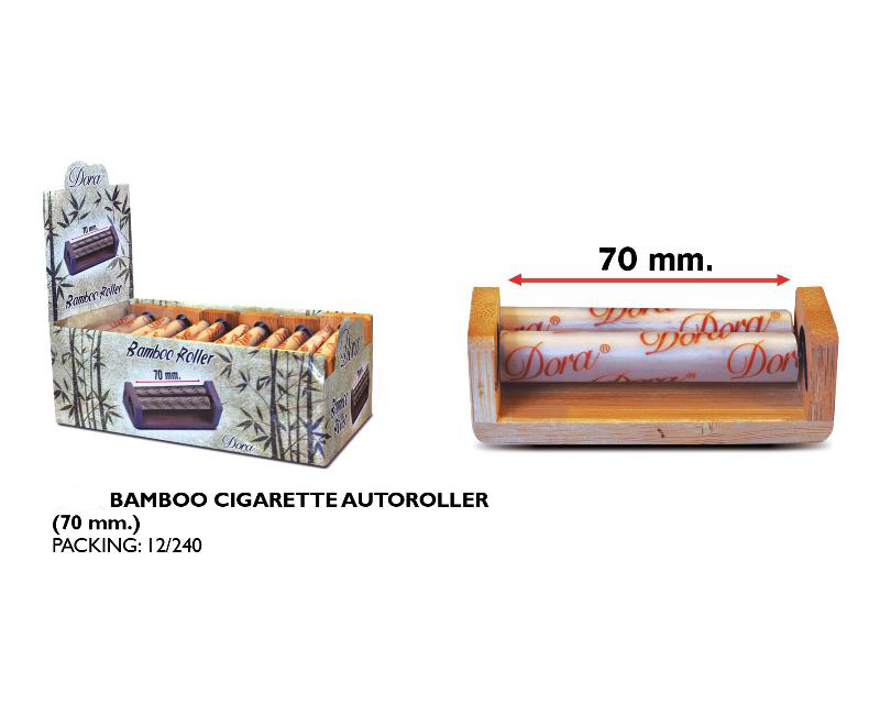 DORA EXP 12 BAMBOO CIGARETTE AUTOROLLER 70mm