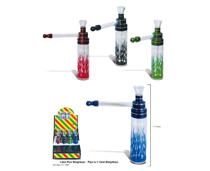 DORA EXP 12 GLASS PIPE BONGSHAPE