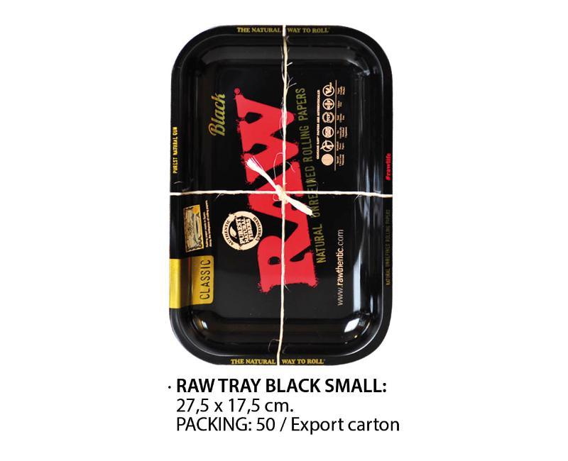 RAW TRAY BLACK SMALL