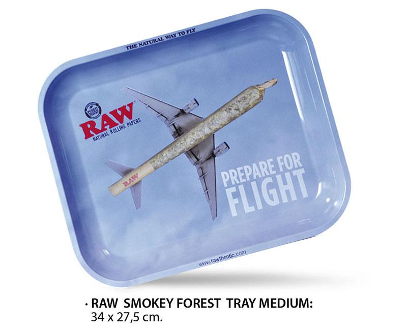 RAW TRAY FLYING MEDIUM