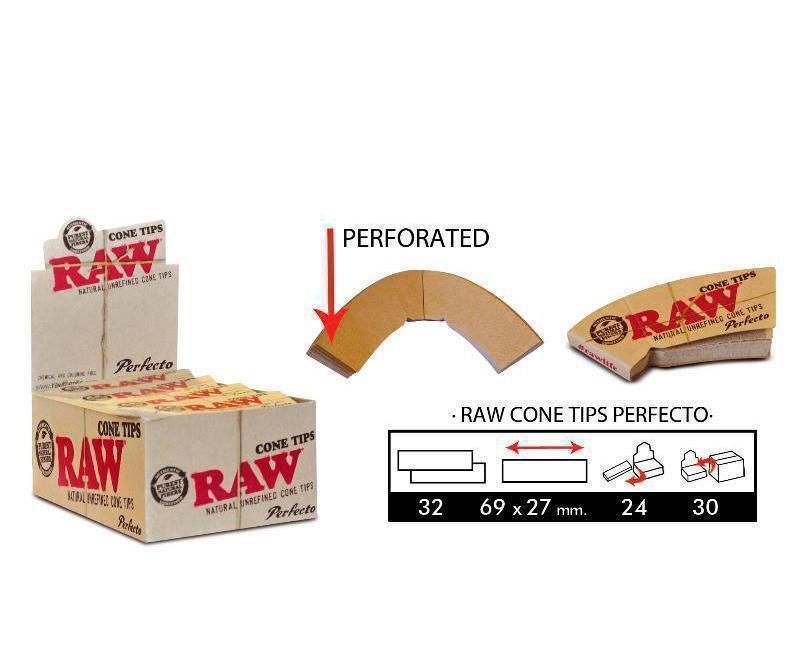 EXP 24 RAW CONE TIPS PERFECTO