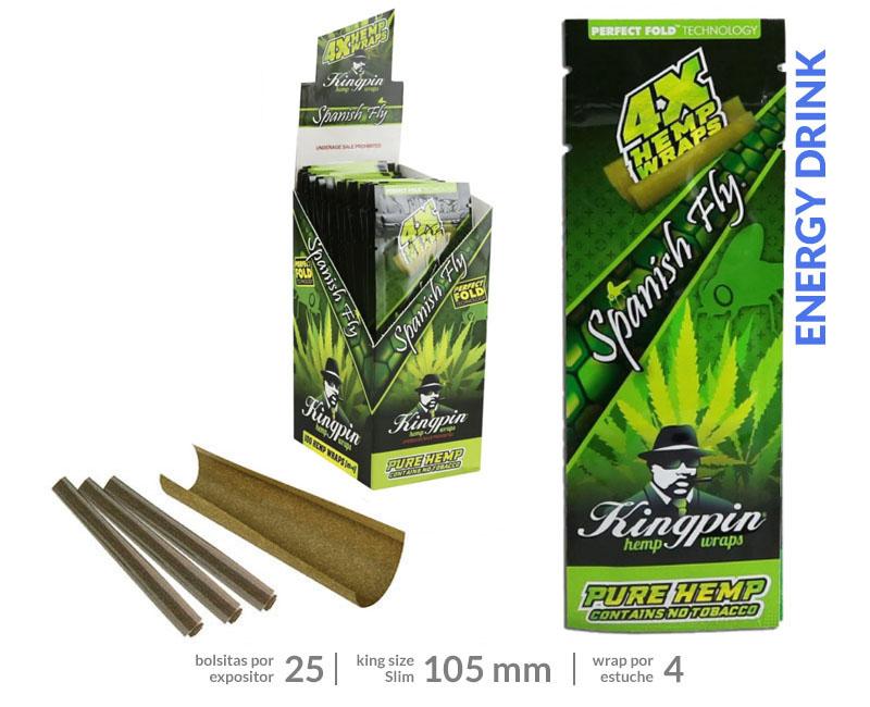 RAW EXP 25  G HEMP BLUNTS SPANISH FLY
