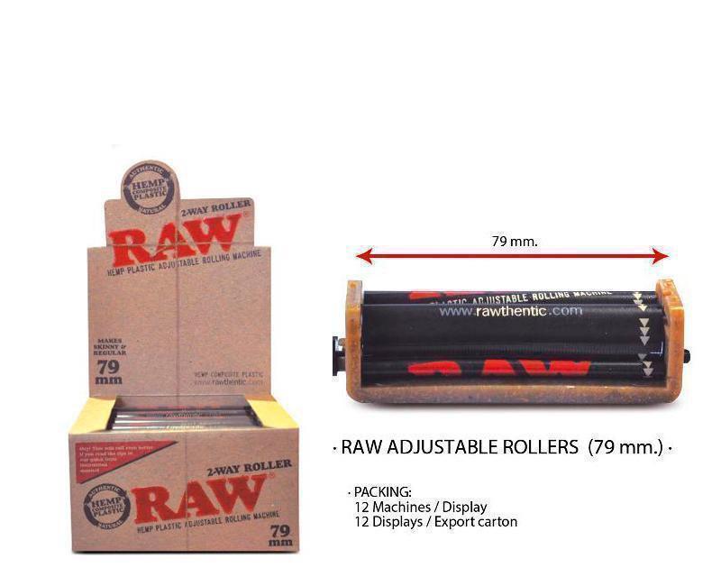 EXP 12 RAW ROLLER ADJUSTABLE 79mm