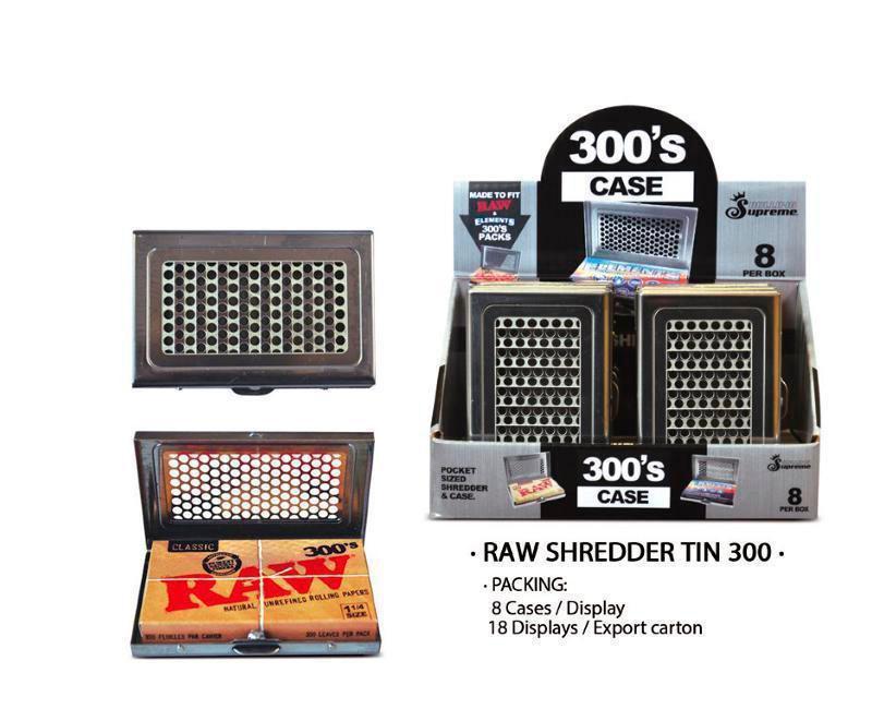 EXP 8 RAW SHREDDER TIN 300