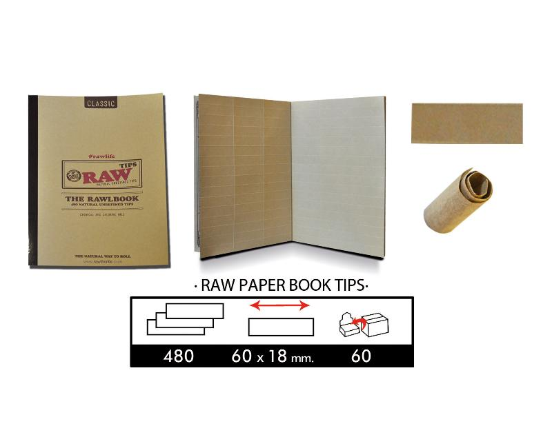 RAW BOOK TIPS (LIBRO DE TIPS CON 480 TIPS)