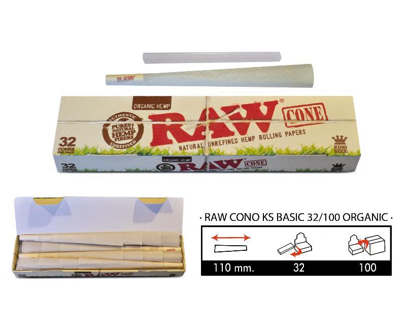 RAW CONO KS BASIC 32/100 ORGANIC