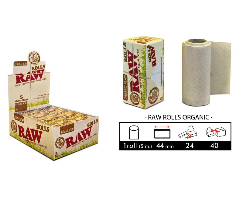 EXP 24 RAW ROLLO ORGANICO