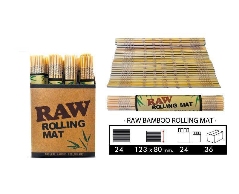 EXP 24 RAW BAMBOO ROLLING MAT