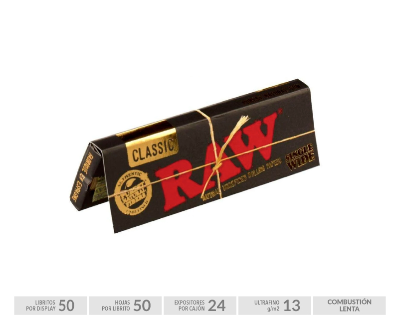 EXP 50 RAW BLACK REGULAR