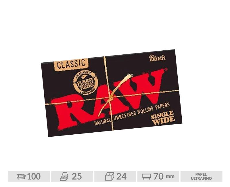 EXP 25 RAW BLACK DOBLE