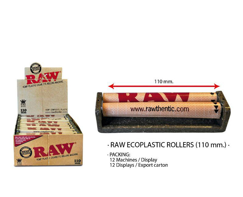 EXP 12 RAW ECOPLASTIC ROLLERS 110mm