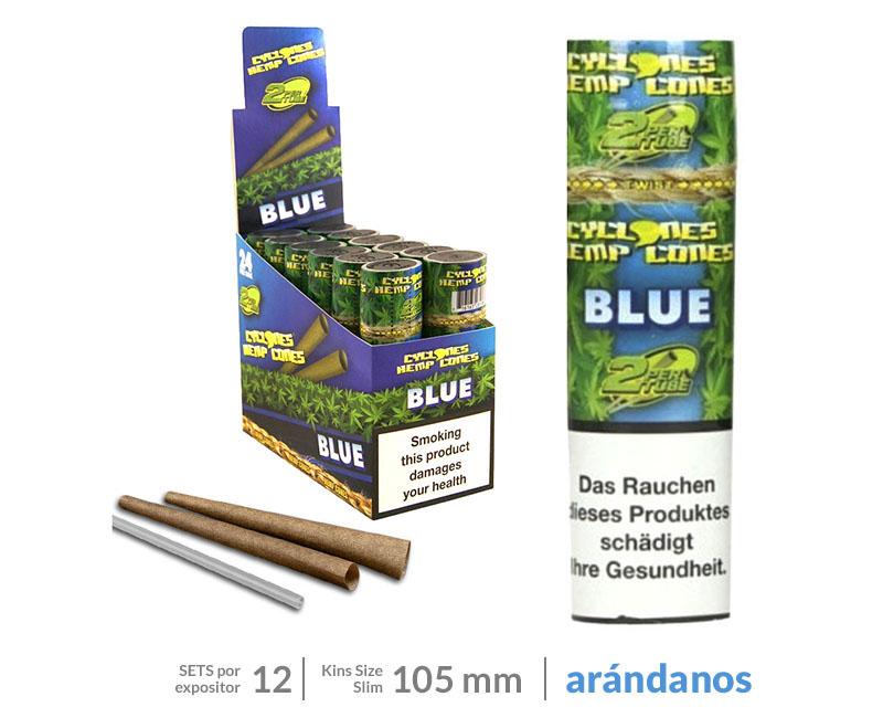 EXP 24 CYCLONE HEMP WRAP CONE BLUE