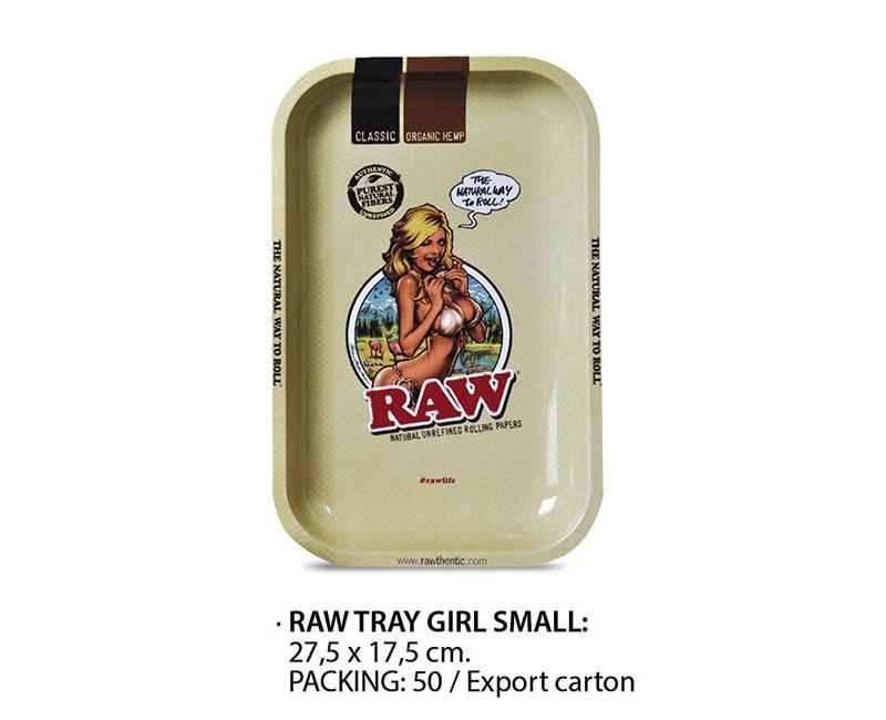 RAW TRAY METAL GIRL SMALL