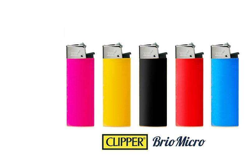 EXP 50 CLIPPER MICRO BRIO COLORES SOLIDO