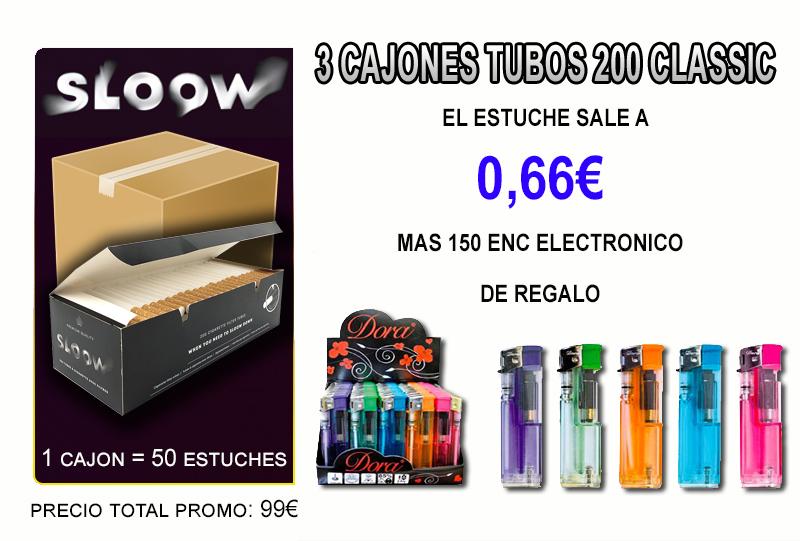 3 CAJONES TUBOS SLOOW 200 CLASSIC E