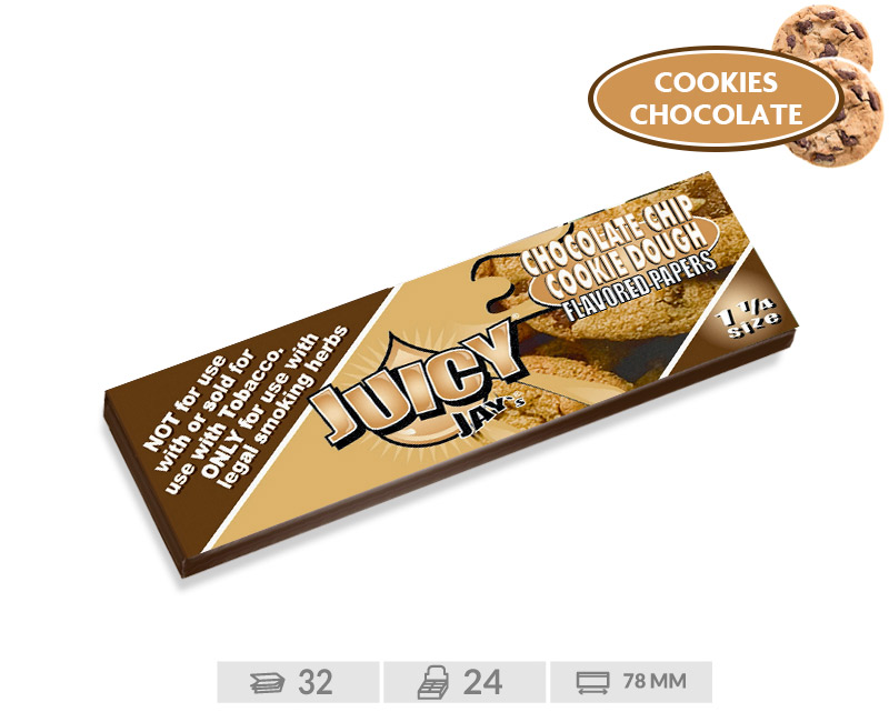 EXP 24 JUICY JAY%27S 1 1/4 CHOCOLATE CHIP COO