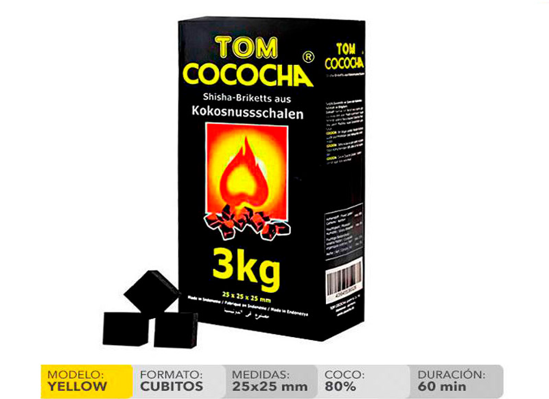 TOM COCOCHA AMARILLO 3 KG