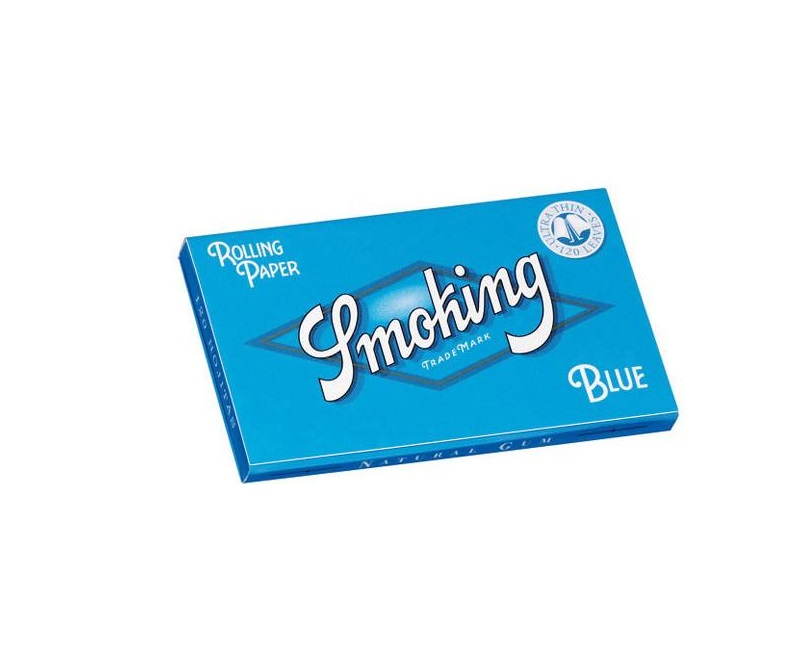 EXP 25 LIBRITOS SMOKING AZUL DOBLE VENTANA