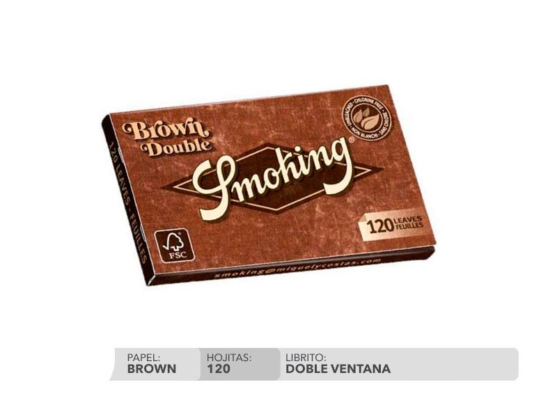 EXP 25 SMOKING BROWN DOBLE VENTANA N.8
